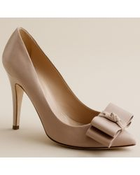J.Crew | Natural Viv Pumps | Lyst