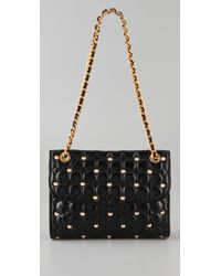 Rebecca Minkoff | Black Circle Quilt Affair Bag | Lyst