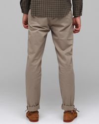A.P.C. | Gray New Chino Army for Men | Lyst