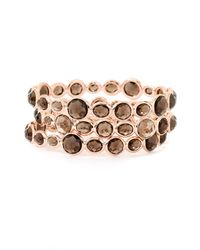 Ippolita | Metallic Rock Candy Mini Gelato Rosé Smoky Quartz Bangle | Lyst