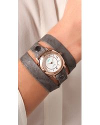 La Mer Collections | Gray Odyssey Wrap Watch | Lyst