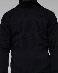 S.N.S Herning | Black Fisherman Sweater for Men | Lyst