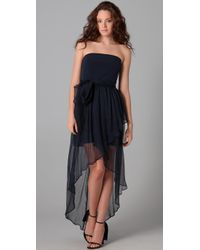 Thayer | Blue Long Fiesta Dress | Lyst