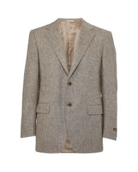 Canali | Brown Tweed Blazer for Men | Lyst