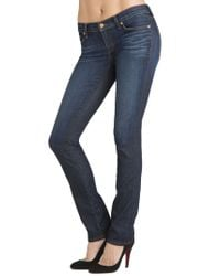J Brand | Blue 2912 Petite Low-rise Pencil Leg | Lyst
