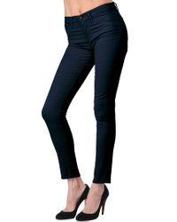 J Brand | Blue 811 Skinny Leg Twill | Lyst