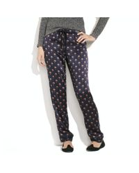 Madewell | Blue Alexa Chung For Valentine Pajama Pants | Lyst