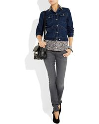 Citizens of Humanity | Blue Avedon Low-rise Skinny Jeans | Lyst