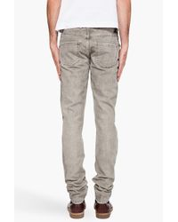 Lanvin | Gray Slim Jeans for Men | Lyst
