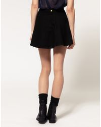 American Apparel | Black Circle Skirt | Lyst