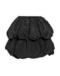 Carven - Black Tiered Taffeta Puffball Skirt - Lyst