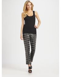 M Missoni - Black Space-dye Pants - Lyst