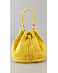 Marc By Marc Jacobs | Yellow Too Hot To Handle Drawstring Bag | Lyst