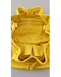 Marc By Marc Jacobs - Yellow Too Hot To Handle Drawstring Bag - Lyst