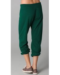 Monrow - Green Vintage Sweatpants - Lyst
