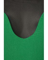 TOPSHOP   Green Net Panel Dress By Dress Up   Lyst