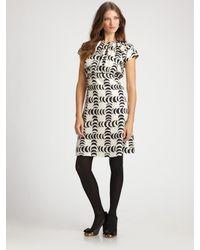 Tory Burch | Black Shirley Dress | Lyst