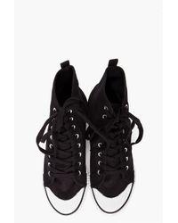 Cheap Monday | Black Bird Men Canvas Sneakers for Men | Lyst