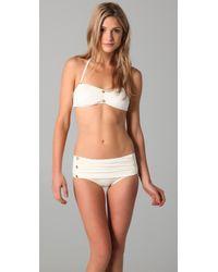 Juicy Couture - White Miss Divine Bikini Bottoms - Lyst