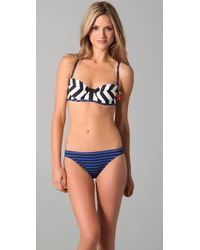 Juicy Couture | Blue Sailor Girl Lingerie Bikini Top | Lyst