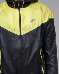 Nike | Black Windrunner Jacket for Men | Lyst
