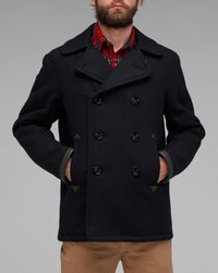 Spiewak | Blue Ensign Pea Coat for Men | Lyst