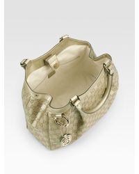 Gucci - Metallic Sukey Medium Ssima Tote Bag - Lyst