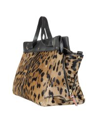 Jérôme Dreyfuss - Multicolor Carlos - Leopard Print Leather Tote - Lyst