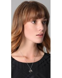 Juicy Couture | Metallic Yes No Spinner Necklace | Lyst