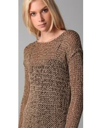 Kelly Bergin | Brown Chainmail Pullover | Lyst