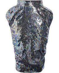 Vivienne Westwood Red Label | Metallic Sequined Puff-pocket Skirt | Lyst