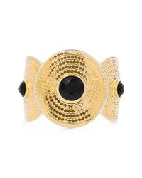 Anna Beck | Metallic Gili - Onyx Large Divided Onyx Cuff | Lyst
