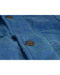 Filson | Light Blue Fisherman Parka Jacket for Men | Lyst