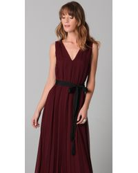 Twelfth Street Cynthia Vincent | Purple Floor Length Pleated Dress | Lyst