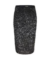 AllSaints | Black Milda Skirt | Lyst