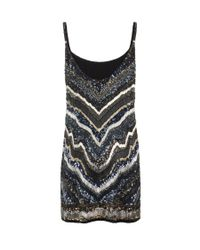AllSaints | Blue Erodes Dress | Lyst