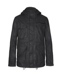 AllSaints - Blue Birdik Jacket for Men - Lyst