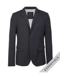 AllSaints - Blue Stafford Jacket for Men - Lyst