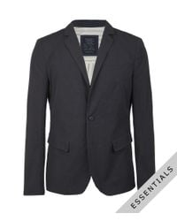 AllSaints | Blue Stafford Jacket for Men | Lyst