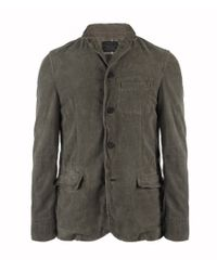 AllSaints | Gray Corduane Milliner Blazer for Men | Lyst