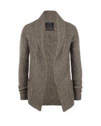 AllSaints | Green Roulette Cardigan for Men | Lyst