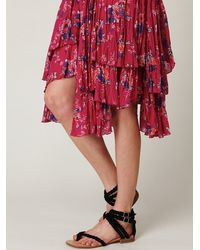 Free People | Purple Fp One Sunflower Wisteria Dress | Lyst