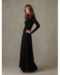 Free People | Black Miles Of Henley Dress | Lyst