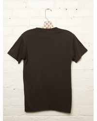 Free People - Black Vintage Billy Joel Tee - Lyst