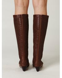 Free People - Brown Kasa Lace Up Sandal - Lyst