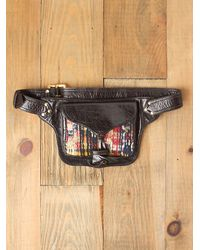Free People | Brown Manta Waistbag | Lyst