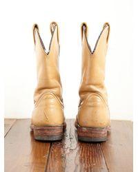 Free People | Brown Vintage Cowboy Boots | Lyst