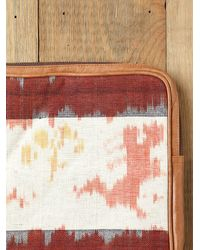 Free People | Brown Ikat Laptop Sleeve | Lyst
