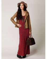 Free People | Red We The Free Bleach Babe Maxi | Lyst