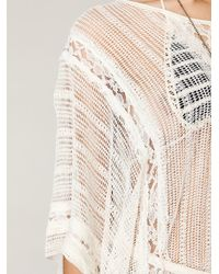 Free People | Natural Runaway Lace Kaftan | Lyst